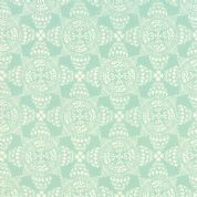 Moda North Woods by Kate Spain - 4812 - Christmas Crystal, Pale Aqua & White Scandinavian Style Geometric - 27246 13 - Cotton Fabric